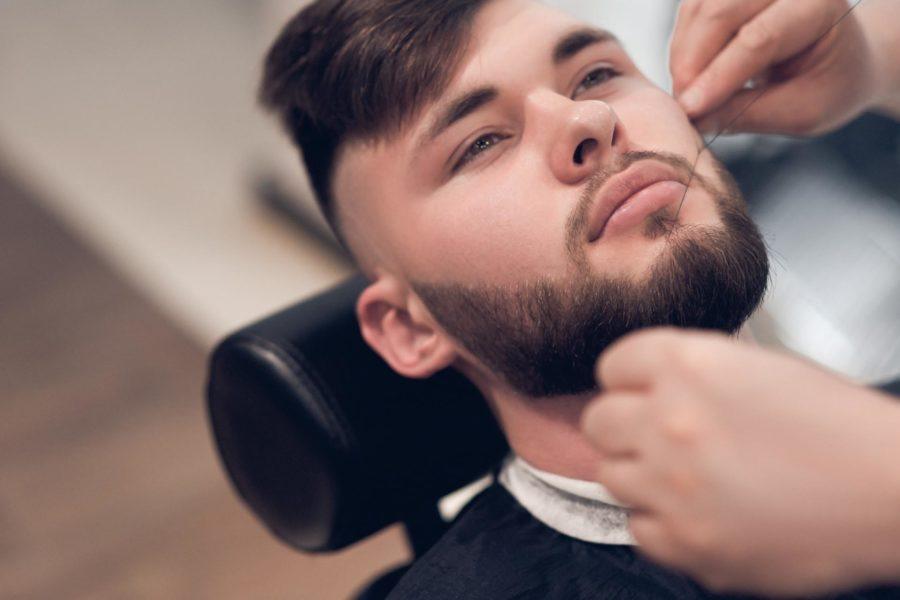 Пересадка волос с затылка на бороду
