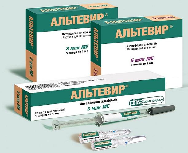 лечение альтевиром