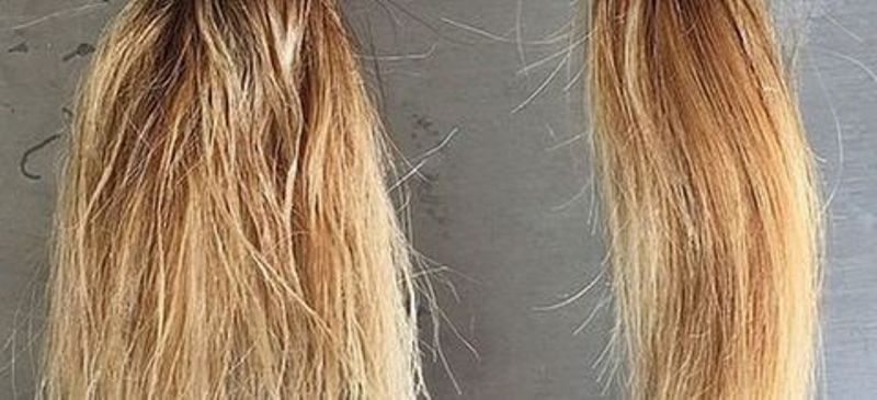уход за сильно поврежденными волосами