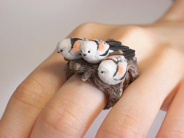 Птички на кольце