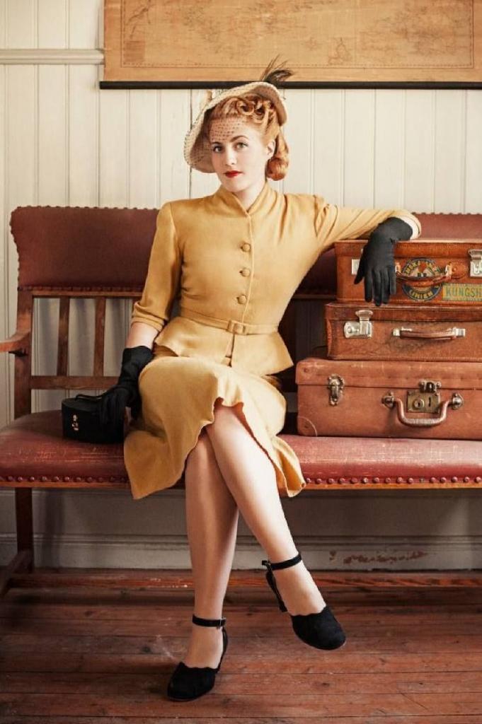 история моды мода 40 х годов