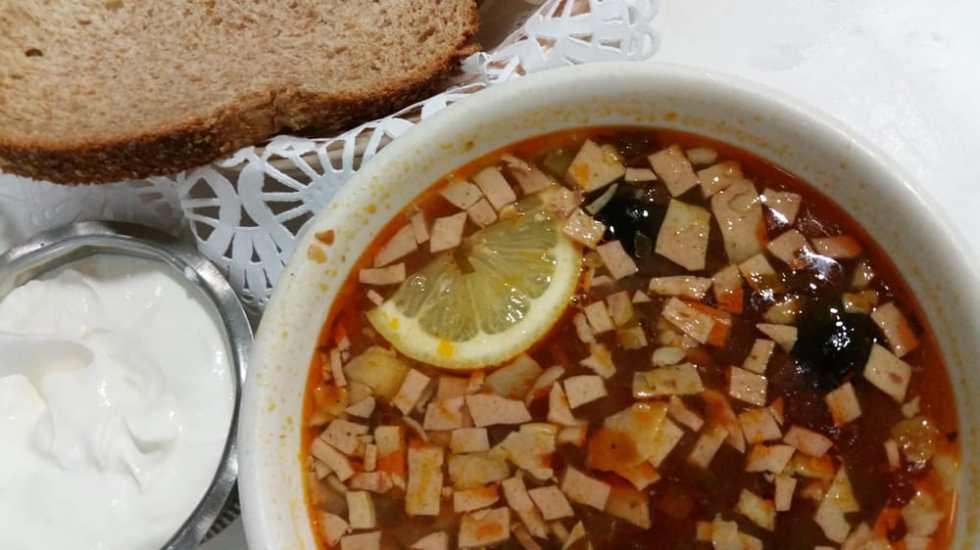 Аппетитный рецепт русского супа