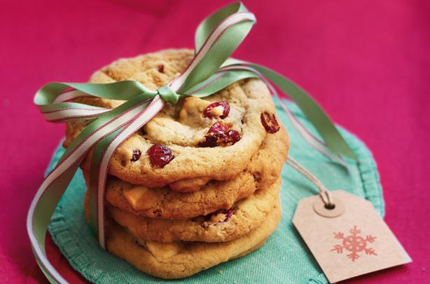 рецепт печенья с клюквой и шоколадом