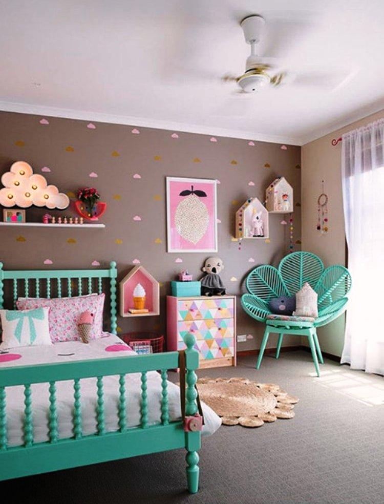 стильная детская комната для девочки