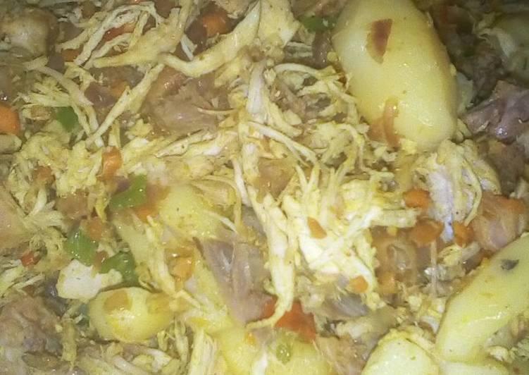 Блюдо с курицей