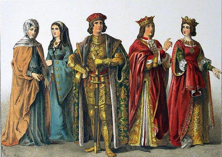 Средневековая мода на медальоны
