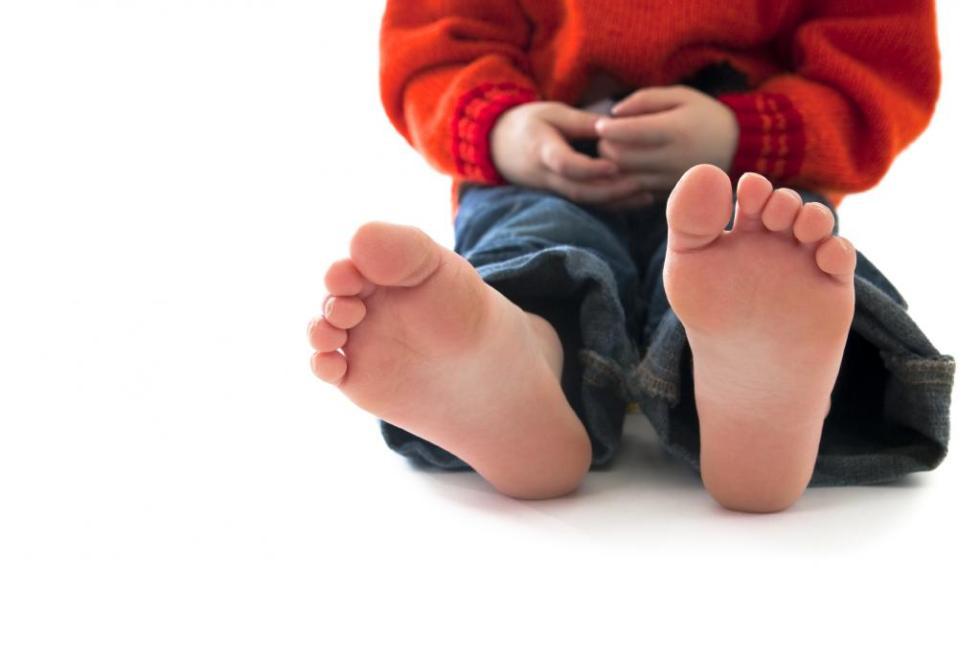 грибок на подошве стопы у ребенка