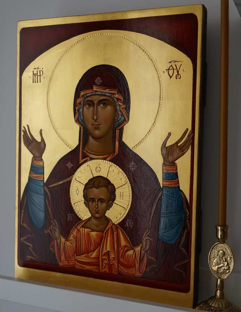 Оранта икона Божьей Матери