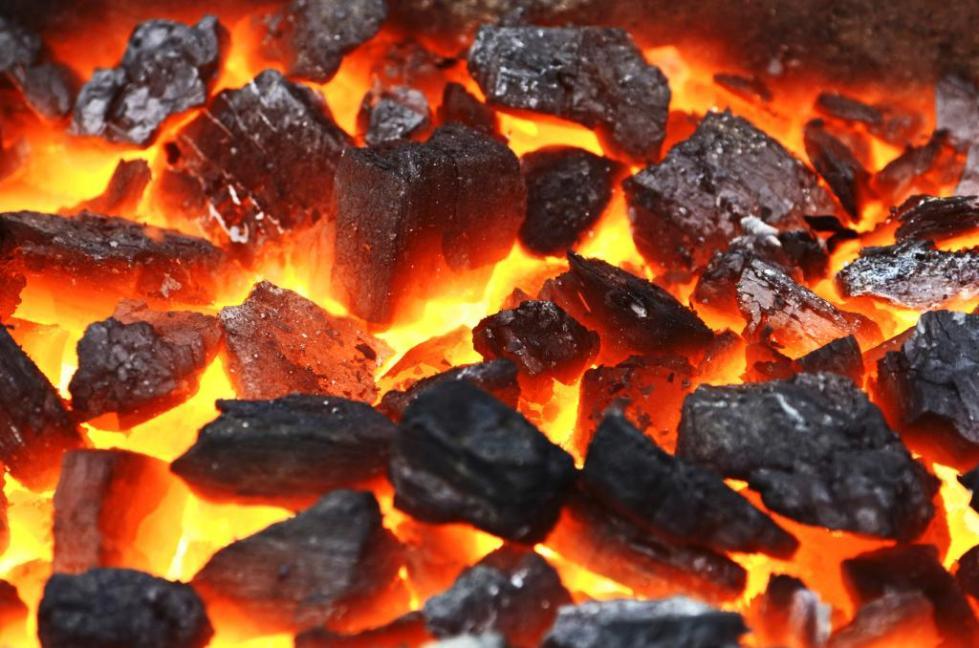 Уголь для печи