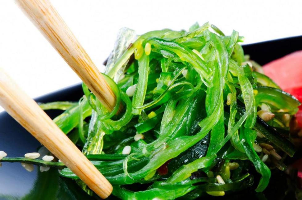 Морские водоросли чука
