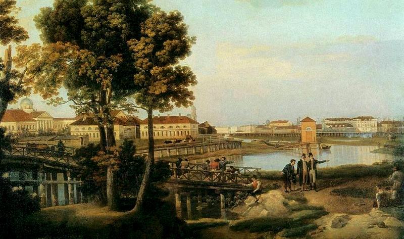 Щедрин. Вид с Петровского острова