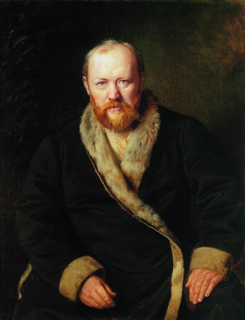 Портрет Островского работы Перова