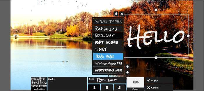 программа для создания стикеров Pixlr Editor
