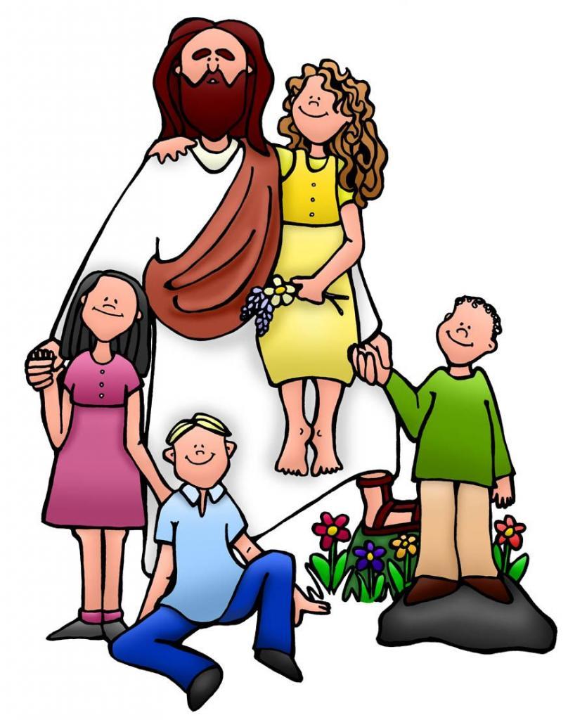 Иисус с семьей