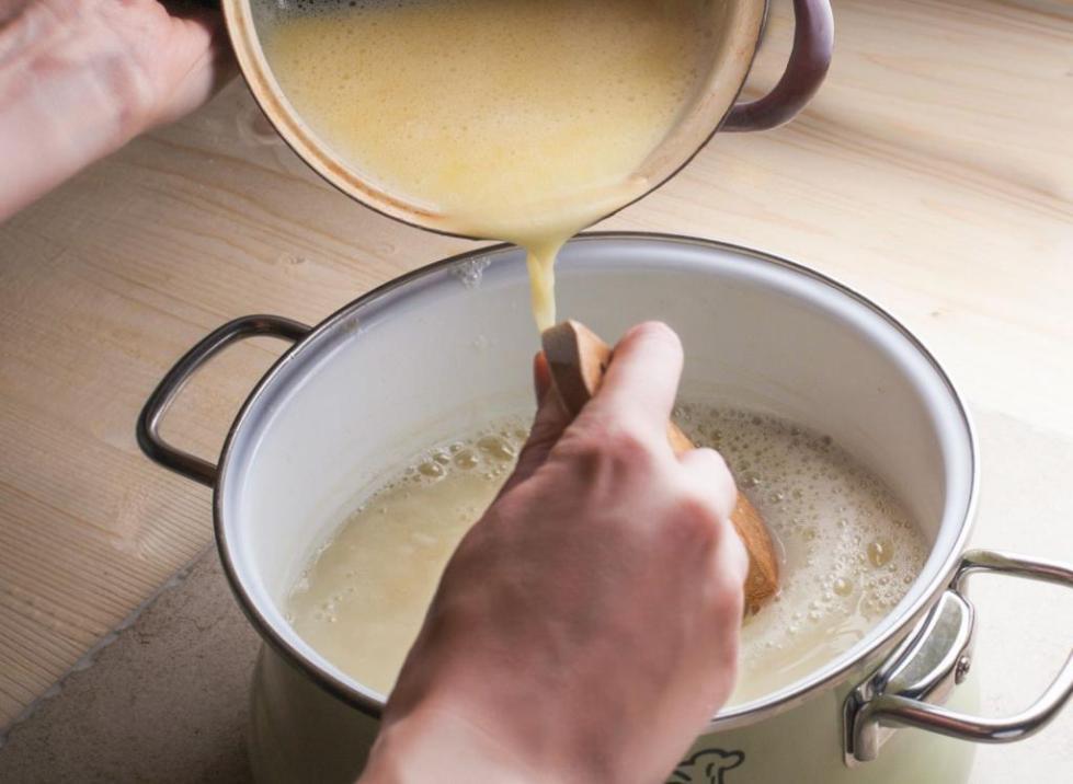 Как варить молочный суп с лапшой