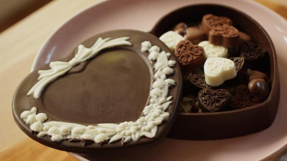 конфеты с разными начинками