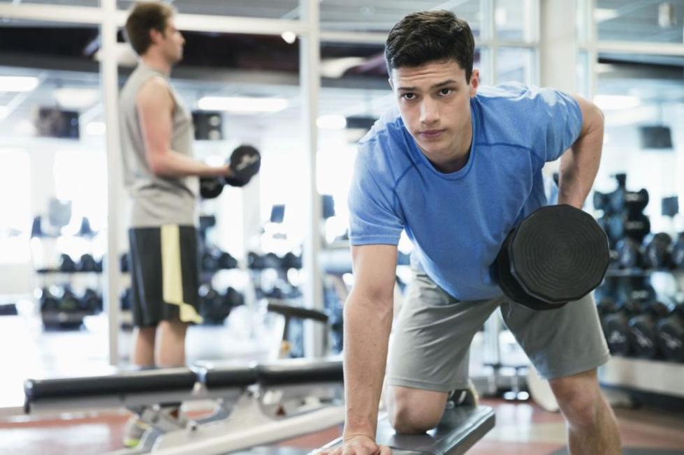 упражнение на спину