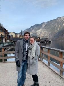 Elias and me in Hallstatt