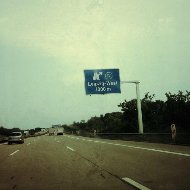 Autobahnabfahrt Nummer 17