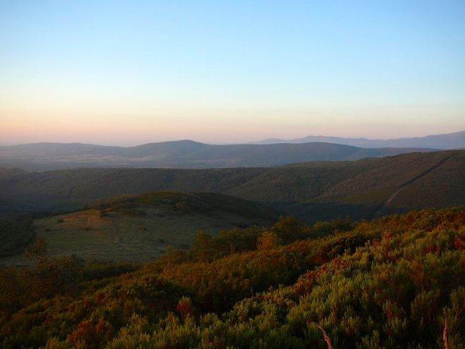 Reiseglück ist...Morgenrot in den Bergen