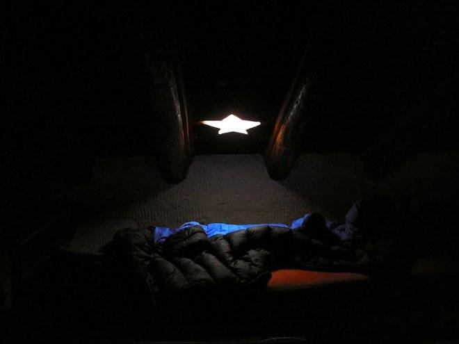 Reiseglück ist...ein Bett unter den Sternen.