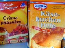 Dr. Oetker Käsekuchen Hilfe im Supermarkt in Montréal