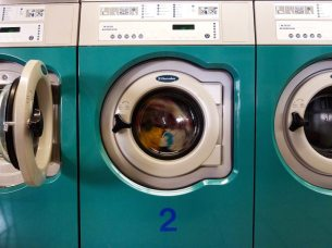 Nr.2: Wer erkennt die Klamotten in der Maschine?