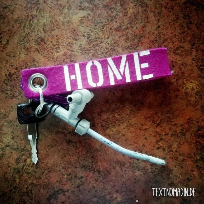 Hymermobil S660 Schlüssel mit Anhänger