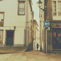 Kleine Gasse Santiago de Compostela