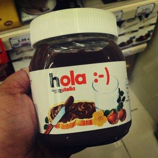 Nutella auf Spanisch