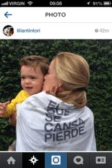 Lilian Tintori, Leopoldo Lopez's wife (polititian jailed by Maduro's govt.)