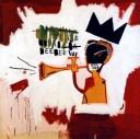 pintura-de- basquiat-que-es-un-hombre-tocando-una-trompeta-en-ligia-elen-y-las-otras-canciones-diez-por-kolordecitara