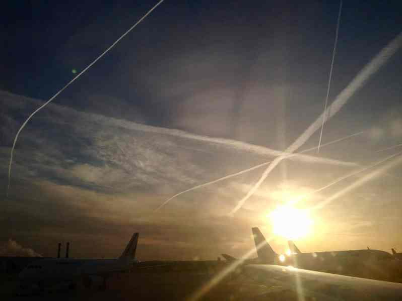 FlughafenParis, frühmorgens (Bild: M. Schäfer)