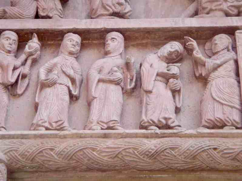 Detail vom Basler Münster (Bild: Martina Schäfer, Textrakt)