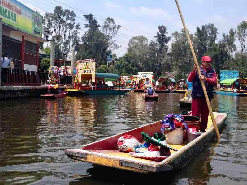 Xochimilco (Bild: Martina Schäfer, Textrakt)