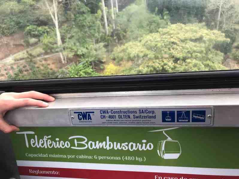 Teleferico Bambusario von CWA (Bild: Martina Schäfer, Textrakt)