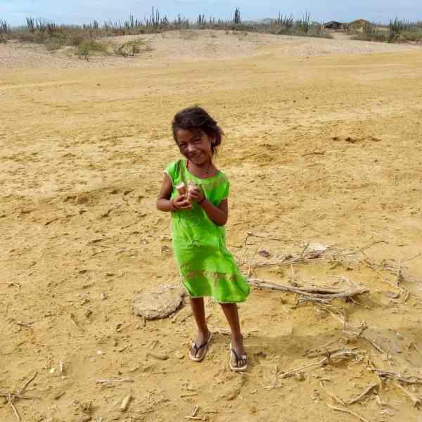 Mädchen in der Guajira (Bild: M. Marin)