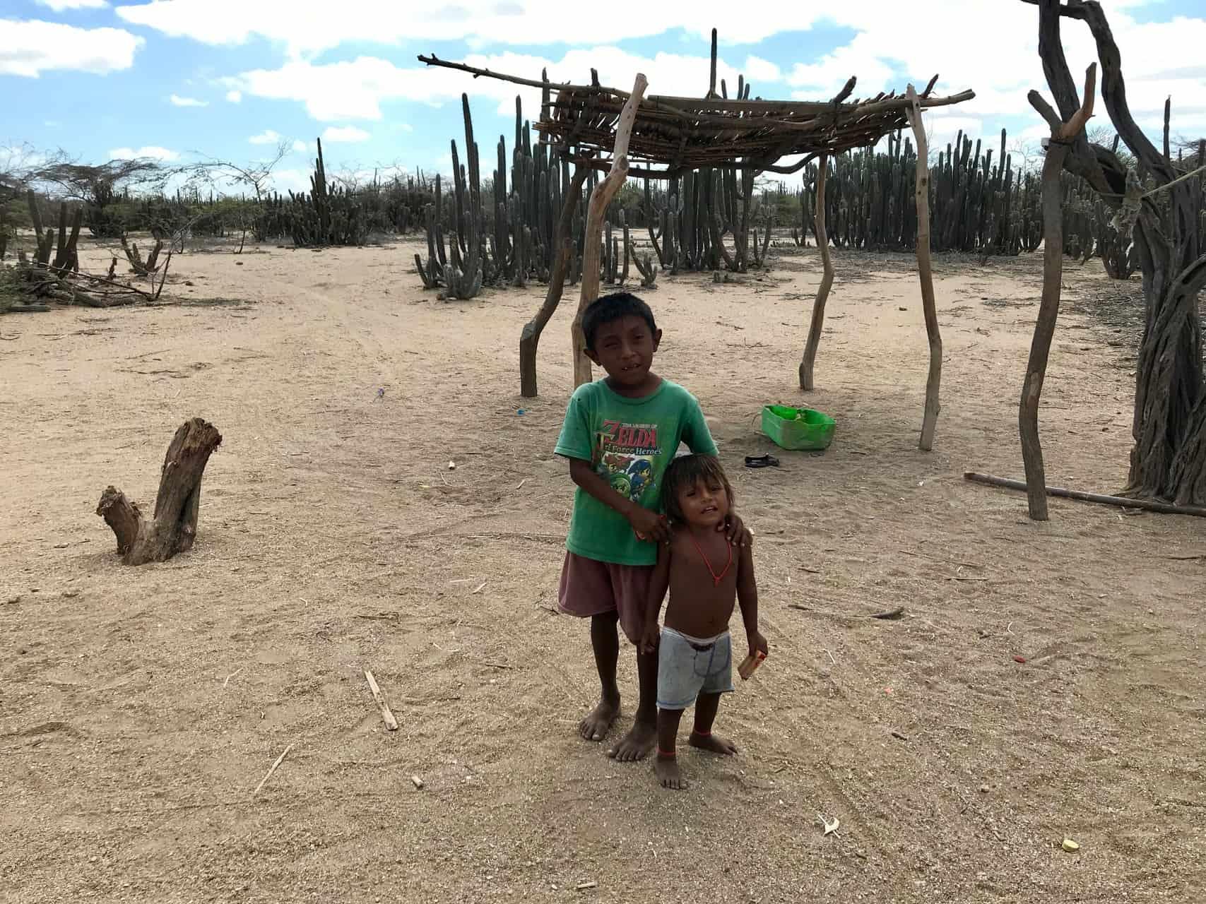 Wayuu-Kinder in der Guajira (Bild: M. Schäfer)