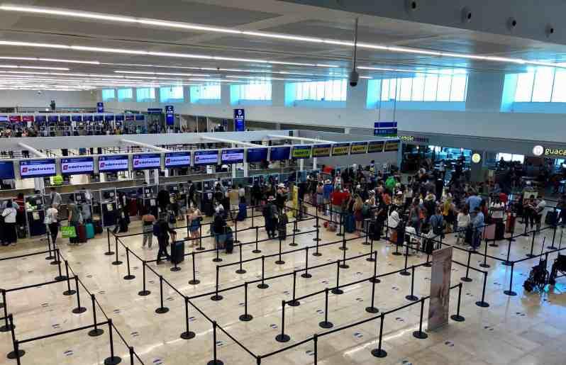 Flughafen Cancun (Bild: M. Schäfer)