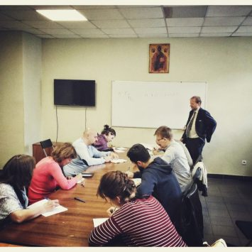 Прошли первые занятия «Школы библейской филологии»