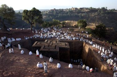 Lalibela is one of the holiest places in the world, let alone East Africa.   © Nathan Harrison / Alamy Stock Photo