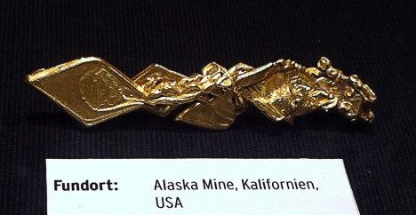 Gold aus Kalifornien