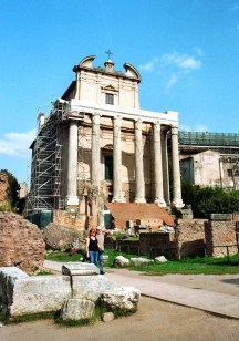 Tempel des Antoninus und der Faustina