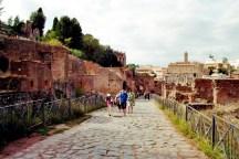 Läden und Wohnhäuser zwischen Palatin und Forum Romanum