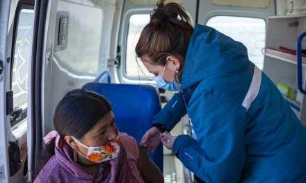 Vacunación en B° Las Quintas