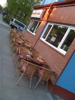 Balkan-Grill mit Außenbestuhlung