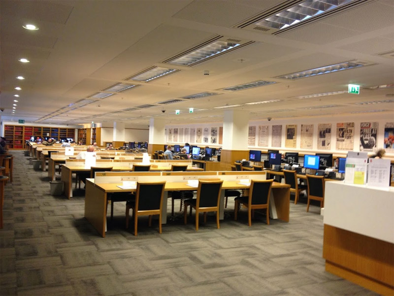 Newsroom der British Library