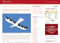ciberaBlog - von mir für cibera eingerichtet & gestaltet