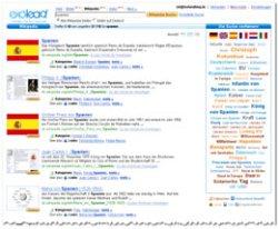 Wikipedia-Suche in exalead