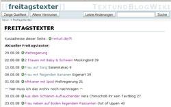 Freitagstexter-Wiki